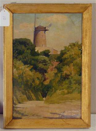 Alfred S. Coke oil painting