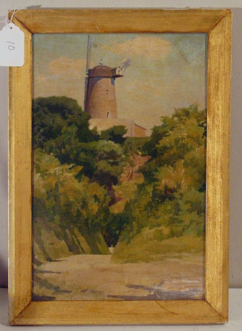 10: Alfred S. Coke oil painting