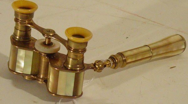 46: mother of pearl opera glasses