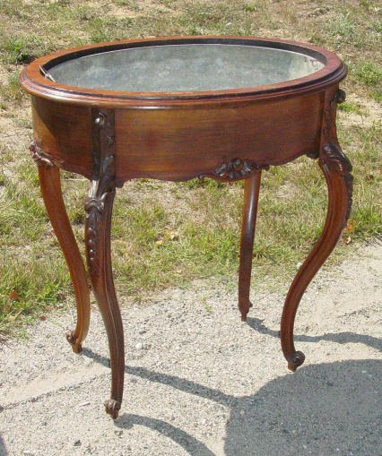 54: Victorian rosewood footed planter