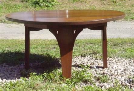 179: impressive mission oak table