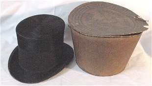 Stove pipe hat circa 1860