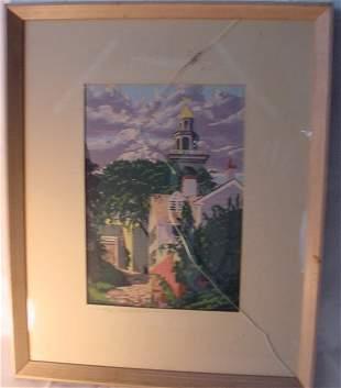 Nantucket watercolor - Roy Clifford Smith