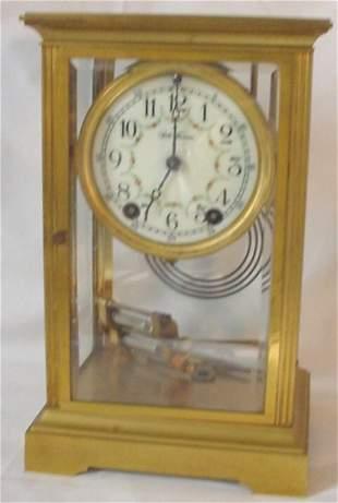 Brass Seth Thomas regulator clock
