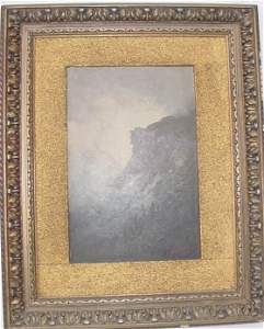 32: Important historical oil on board of the