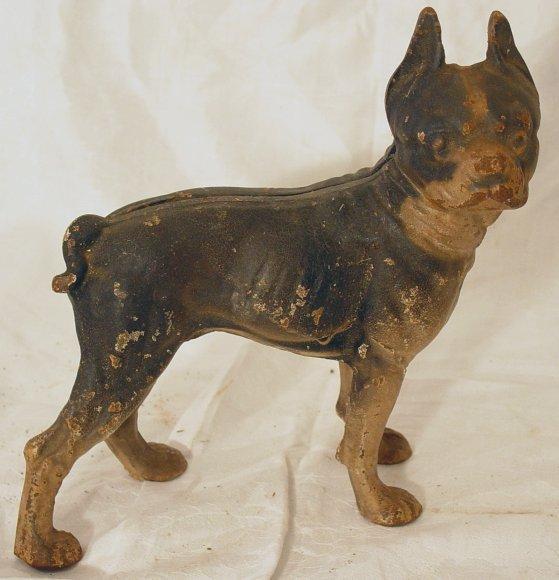 2: Boston Terrier cast iron doorstop