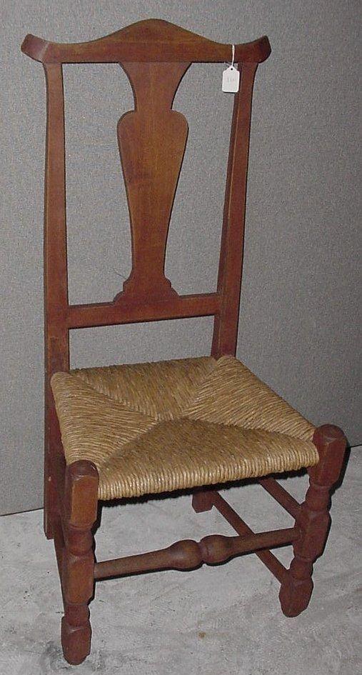 3: 18th c. Queen Anne chair