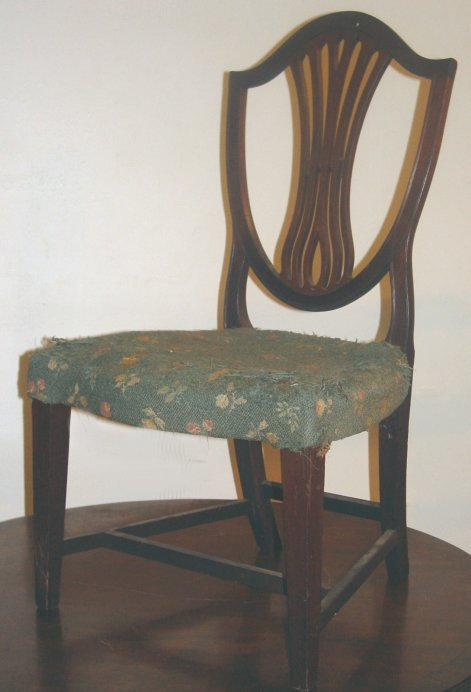 4A: Early 19th c. chair