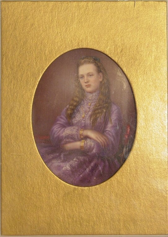 8: Portrait painting on ivory
