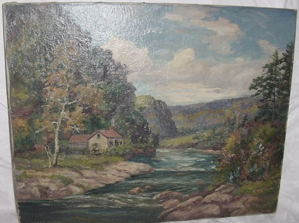 10A: oil on canvas by Alfred Addy