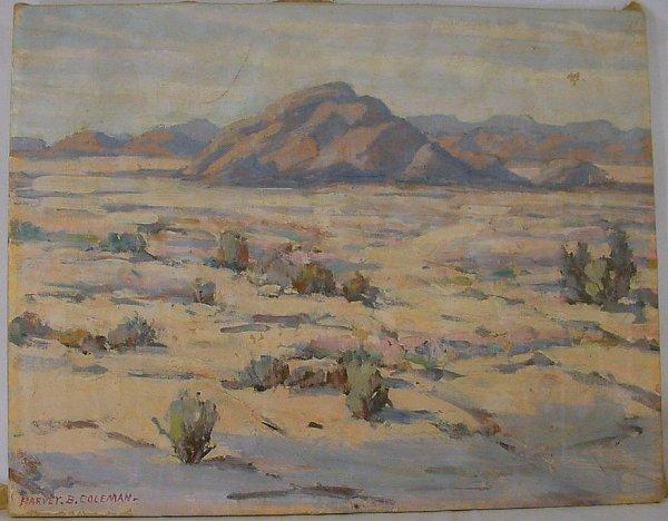 14A: Harvey B Coleman oil on canvas