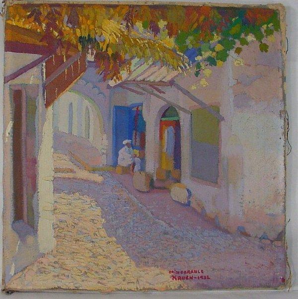 14B: Juan Mingorance oil on canvas