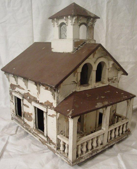 14C: folk art birdhouse
