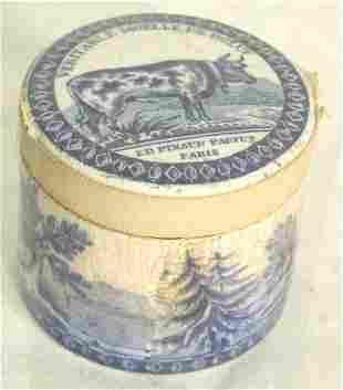 Early Staffordshire perfume box,