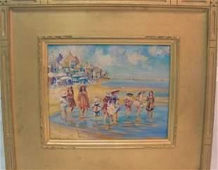 beach scene, Susan Miller Chase