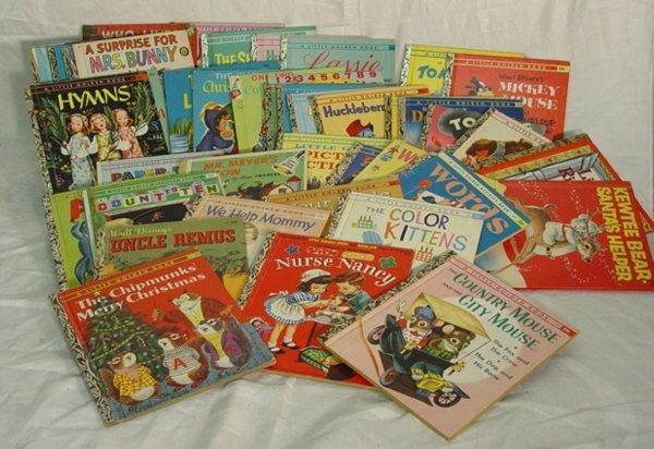 210: Large lot Children's Golden Books