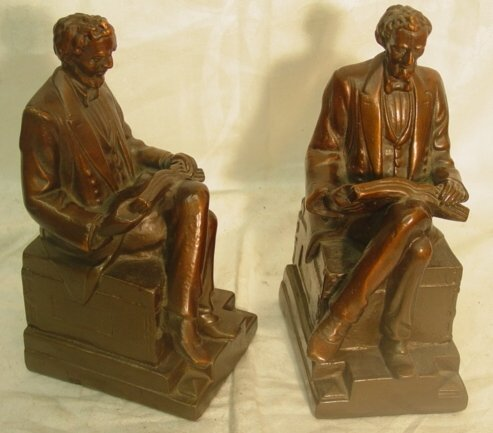1013: Pair Lincoln bookends