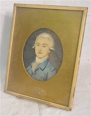 watercolor of gentleman