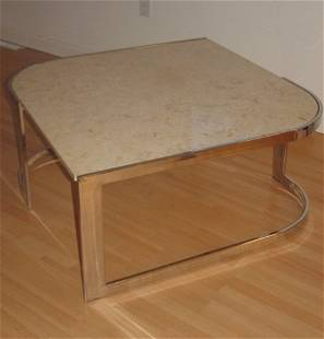 modern marble top table