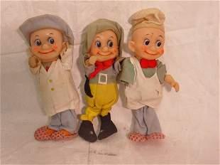 Three Fancy dolls