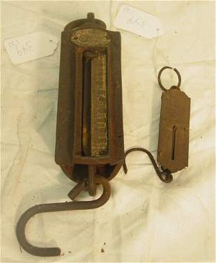 Two old scales