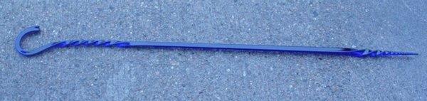 2004: cobalt blue cane whimsy