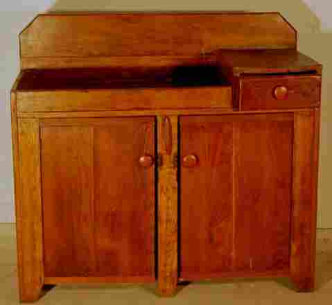 early 19th c. dry sink