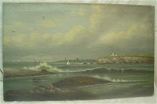 oil on canvas by Parkhurst