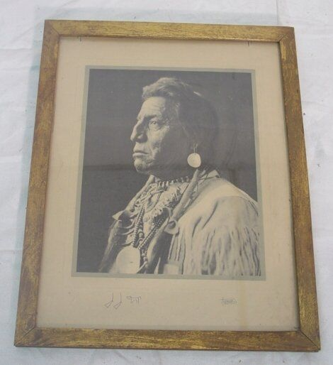 1927 Native American Indian photograph