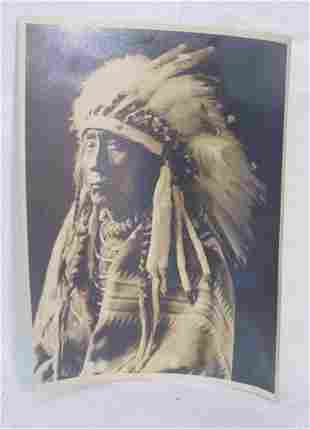 Photograph of Indian chief