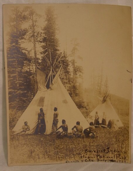 2012: 1929 photograph of Indians
