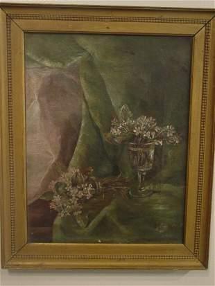 HC Pratt oil painting on canvas