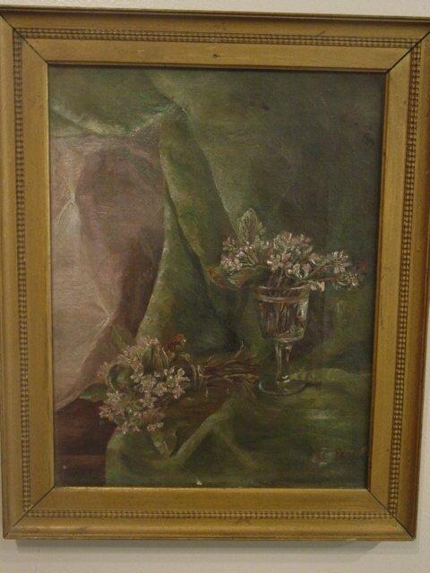 2020: HC Pratt oil painting on canvas