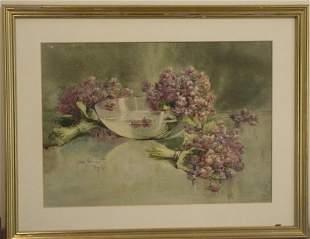 Maud Stumm watercolor
