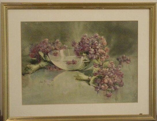 2021: Maud Stumm watercolor