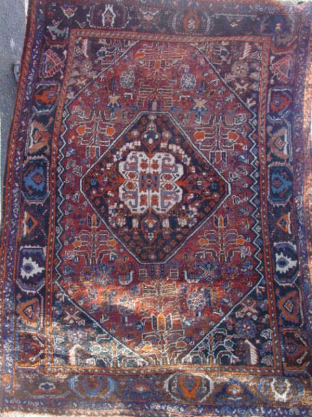 1: Shiraz oriental carpet