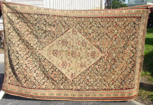 2: early 20th c. Senna Kilim oriental carpet