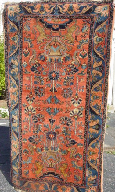 4: North West Persian oriental carpet