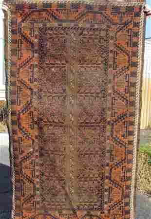 Antique Belouch oriental carpet