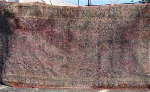 Circa 1930 Sarouk oriental carpet