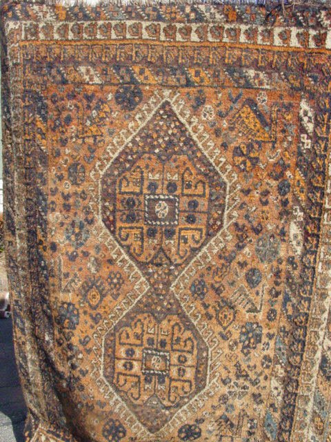 9: Shiraz oriental carpet