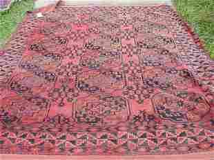 Roomsize oriental Bokhara carpet