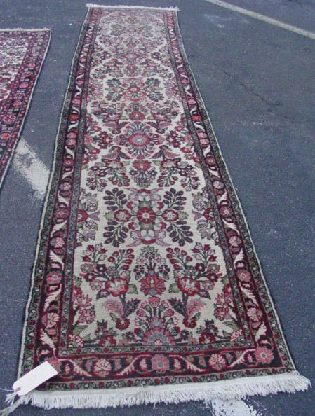 12: Hamadan oriental carpet runner