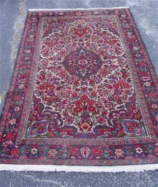 Hamadan scatter oriental carpet