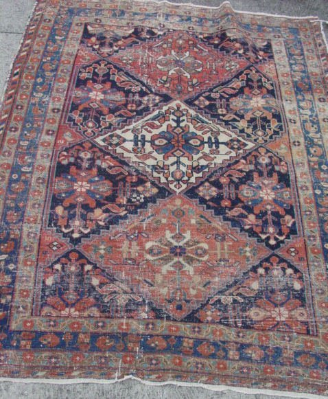 18: Antique oriental carpet