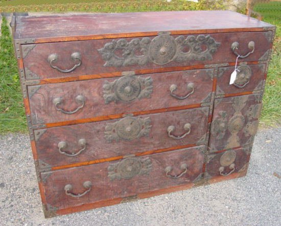 22: Korean 19th c. Tansu
