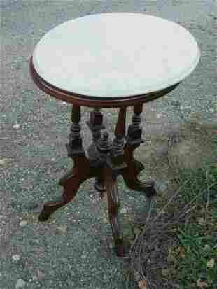 Period marble top table