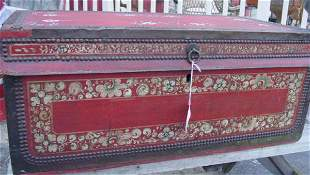 Chinese export camphor chest