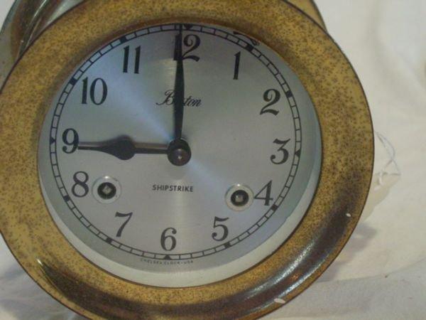 179: Boston ships clock, Chelsea - 2