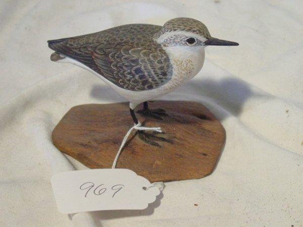 "969: ""Sanderling"" full size shorebird"
